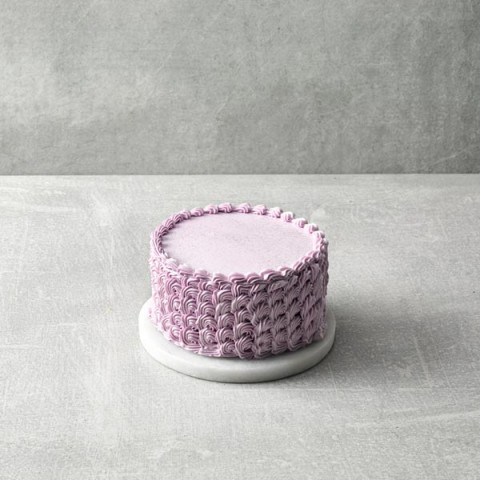 """Pastel Butter Cream Covered Chocolate Cake 4"""""""