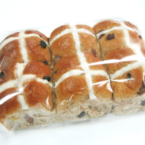 Hot Cross Bun 6 pack