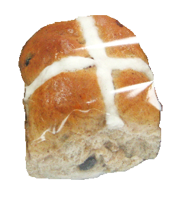 Hot Cross Bun - Single