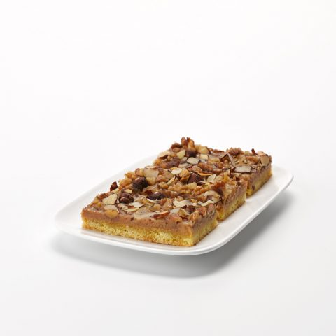 Caramel Nut Slice