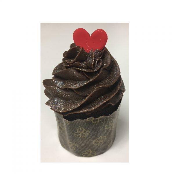 Valentines Chocolate Cupcake