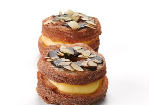 Chocolate & Almond Cronut
