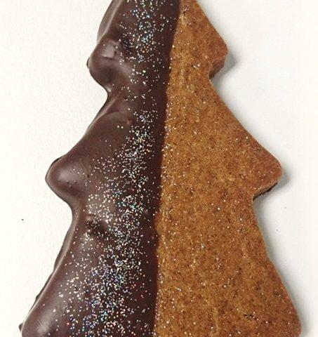 Gingerbread Tree Cookie