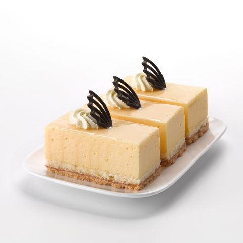 Lemon Mousse Slice