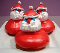 Meringue Santa