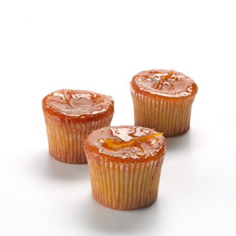 Orange & Almond Cupcake