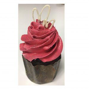 Valentines Pink Cupcake