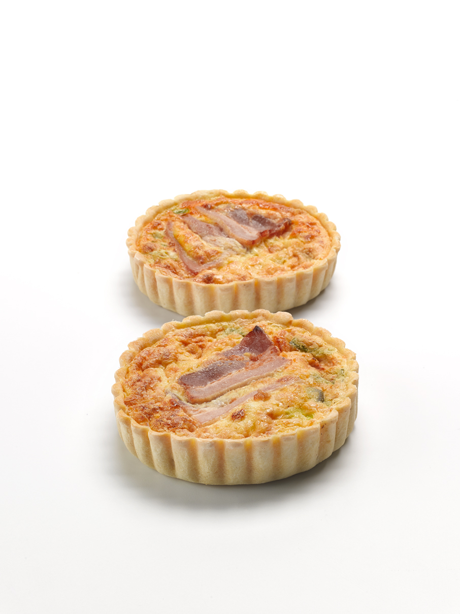 Bacon & Egg Quiche 4""