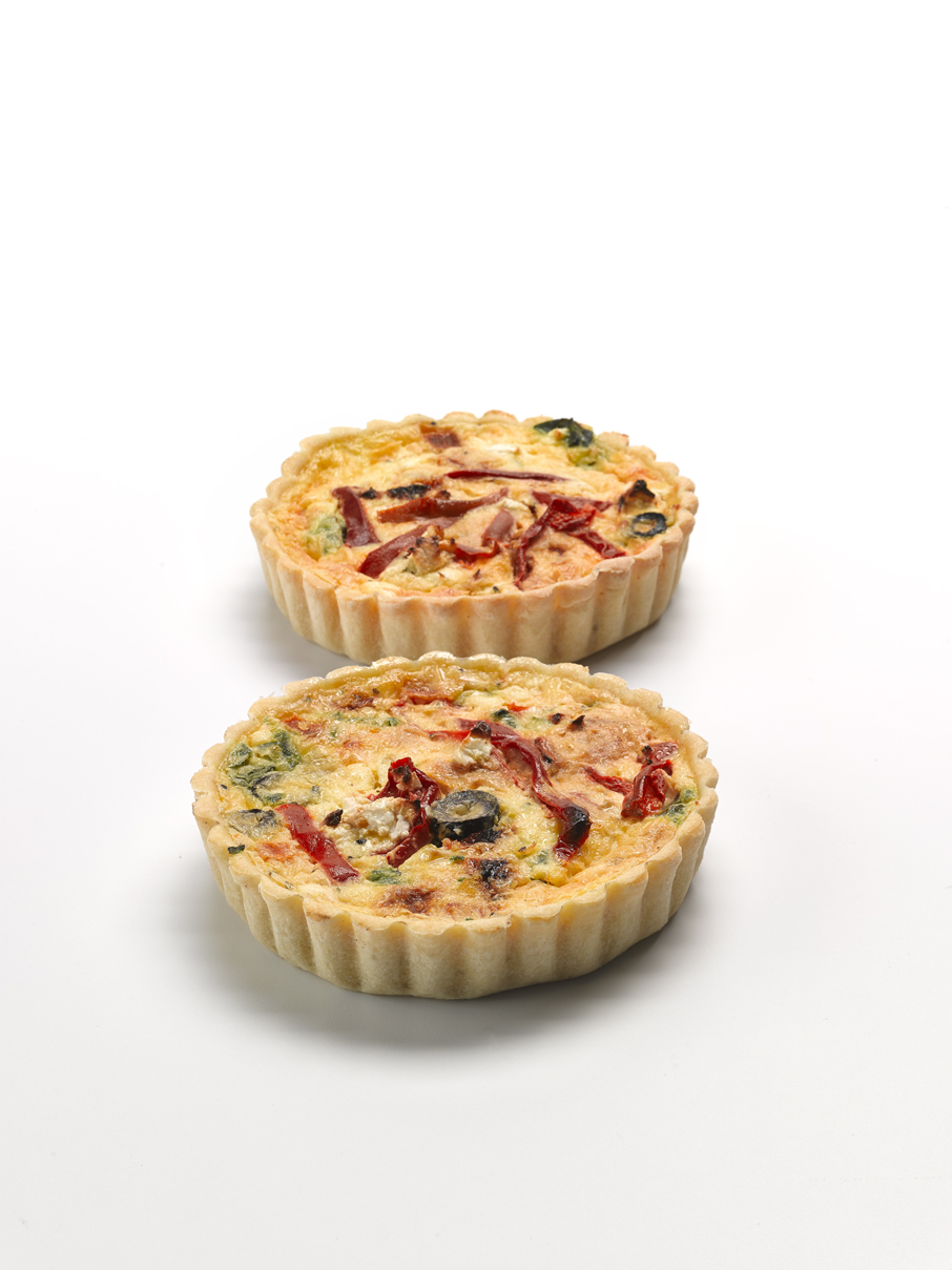 Pumpkin & Feta Quiche 4""