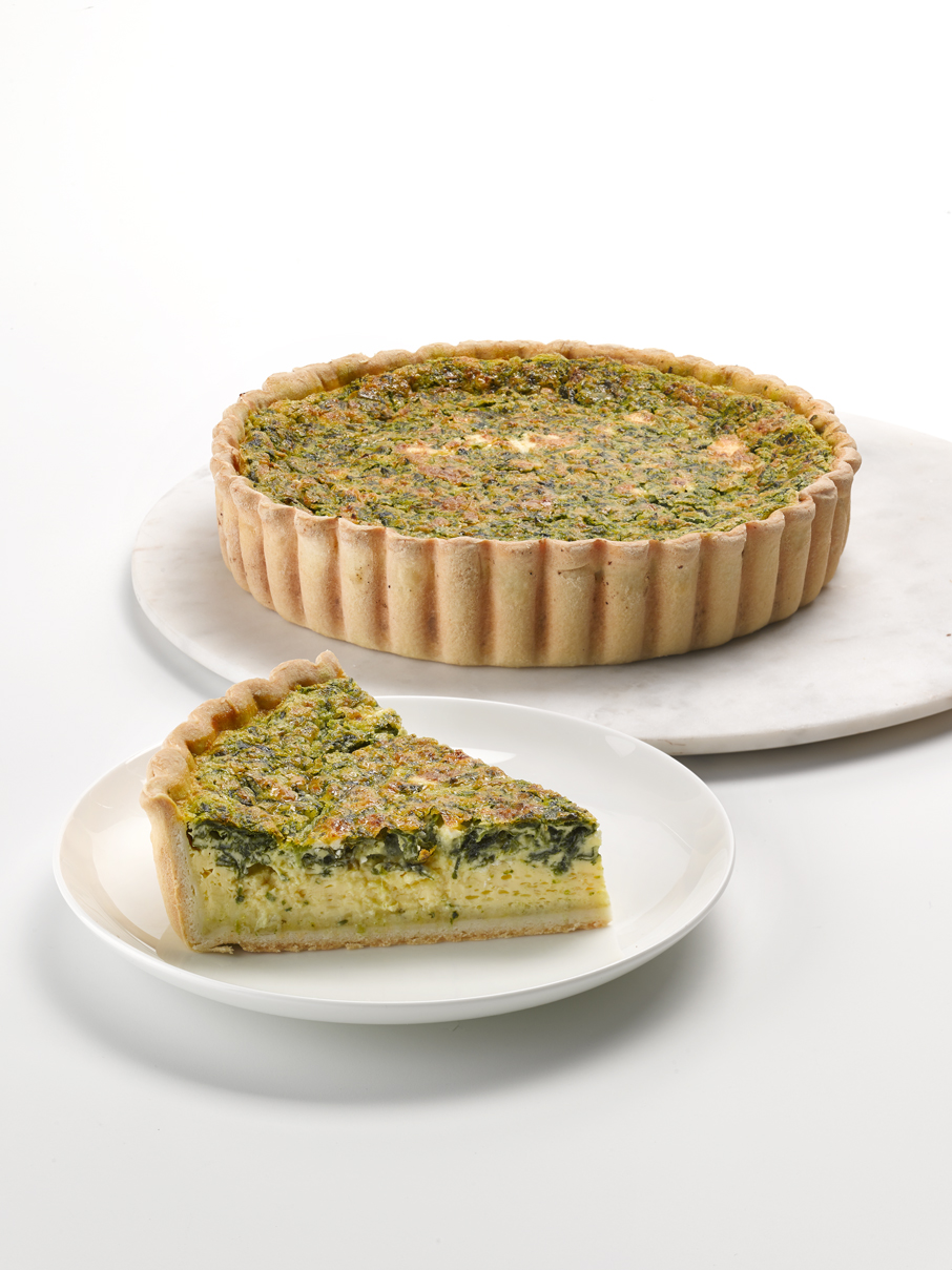 Spinach & Feta Quiche 9""