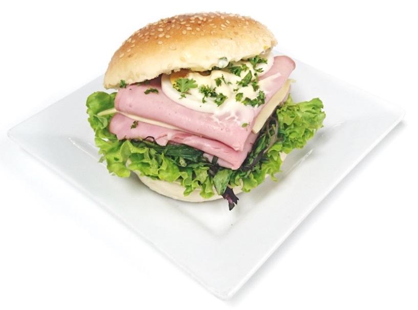 Ham Sesame Roll