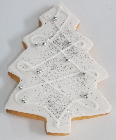 Shortbread Tree Cookie