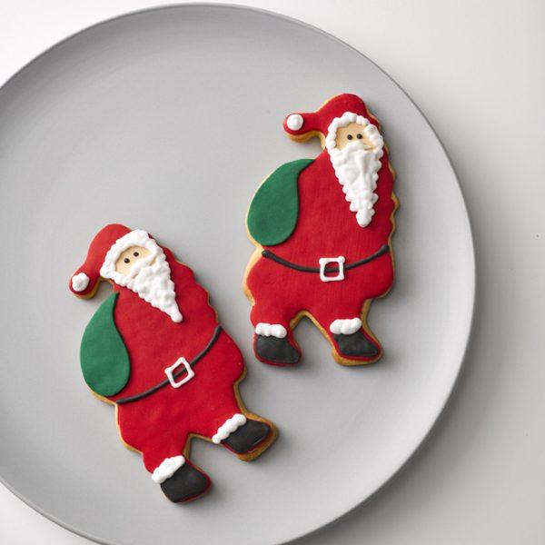 Shortbread Santa