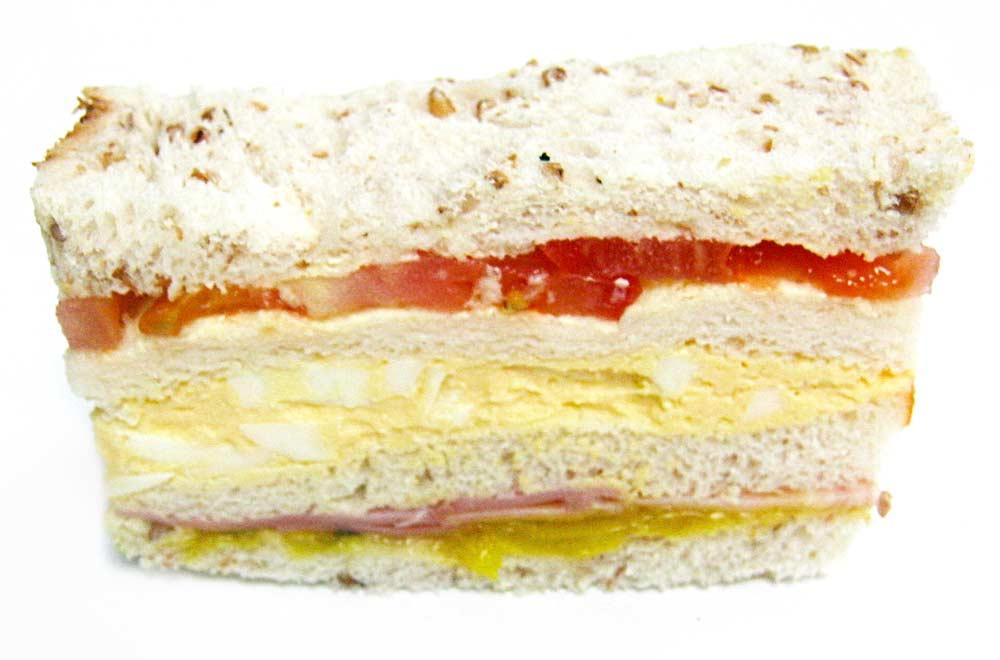 Ham, Egg & Tomato Club