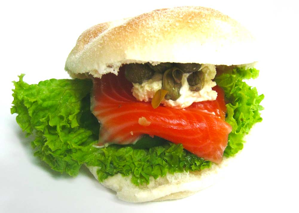 Sandwich Salmon Flourie